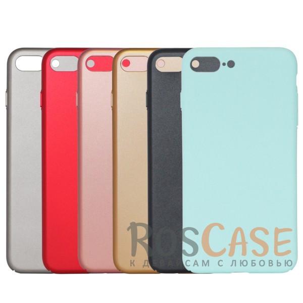 Матовая soft-touch накладка Joyroom из ударостойкого пластика с дополнительной защитой углов для Apple iPhone 7 plus / 8 plus (5.5)Описание:бренд - Joyroom;совместимость - Apple iPhone 7 plus / 8 plus (5.5);материал - пластик;тип - накладка.<br><br>Тип: Чехол<br>Бренд: Epik<br>Материал: Пластик