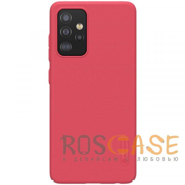 Фото Красный Nillkin Super Frosted Shield | Матовый пластиковый чехол для Samsung Galaxy A52
