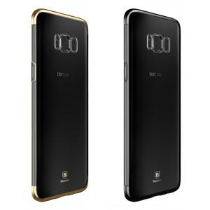 Baseus Glitter | Ультратонкий чехол для Samsung G955 Galaxy S8 Plus с глянцевыми торцами