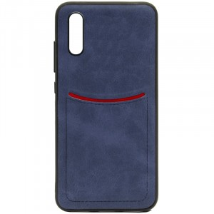 ILEVEL | Чехол с кожаным покрытием и с карманом-визитницей для Huawei P20