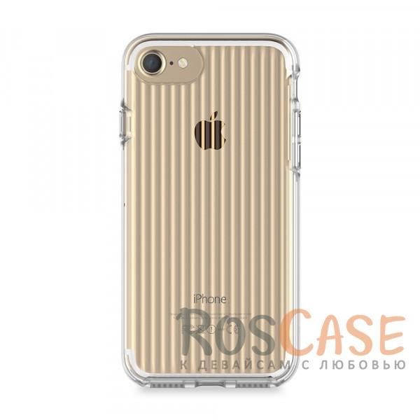 STIL Clear Wave | Прозачный чехол для Apple iPhone 7 / 8 (4.7) из пластика (Бесцветный (прозрачный))Описание:бренд&amp;nbsp;STIL;чехол идеально совместим с Apple iPhone 7 / 8 (4.7);материалы - поликарбонат, термополиуретан;формат - накладка.<br><br>Тип: Чехол<br>Бренд: Stil<br>Материал: TPU