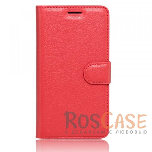 Чехол-кошелёк из экокожи с функцией подставки на магнитной застёжке для Xiaomi Redmi Note 4 (MTK) (Красный)Описание:материалы - термополиуретан, искусственная экокожа;совместимость - Xiaomi Redmi Note 4;в наличии все необходимые вырезы;защита от ударов и царапин;функция подставки;магнитная застёжка;не скользит в руках;внешняя отделка из искусственной кожи;приподнятые бортики для защиты камеры.<br><br>Тип: Чехол<br>Бренд: Epik<br>Материал: Искусственная кожа