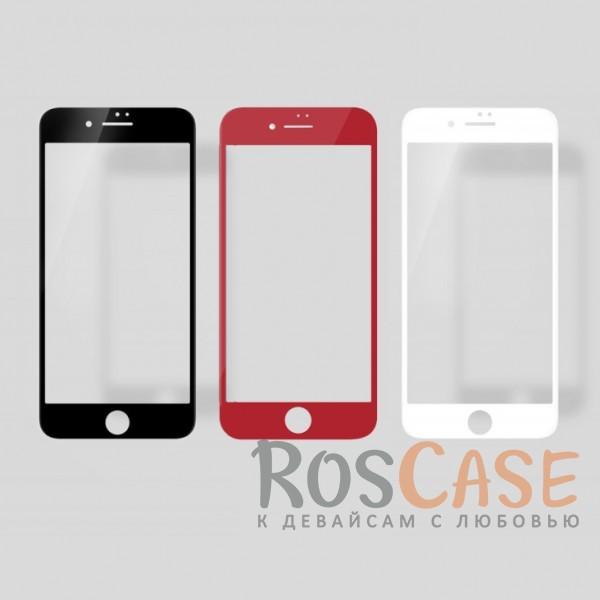 """Фото Объемное защитное стекло Nillkin 3D на весь экран с олеофобным покрытием """"анти-отпечатки"""" для Apple iPhone 7 / 8 (4.7"""")"""
