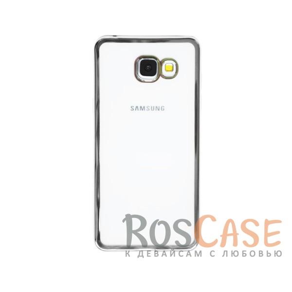 Прозрачный силиконовый чехол для Samsung A510F Galaxy A5 (2016) с глянцевой окантовкой (Серебряный)Описание:подходит для Samsung A510F Galaxy A5 (2016);материал - силикон;тип - накладка.Особенности:глянцевая окантовка;прозрачный центр;гибкий;все вырезы в наличии;не скользит в руках;ультратонкий.<br><br>Тип: Чехол<br>Бренд: Epik<br>Материал: Силикон