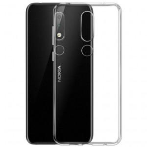 J-Case THIN | Тонкий силиконовый чехол 0.5 мм для Nokia 7.1