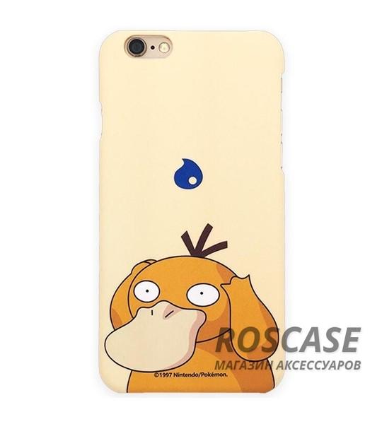 Ультратонкий цветной TPU чехол Pokemon Go для Apple iPhone 6/6s (4.7) (Psyduck)Описание:разработан для&amp;nbsp;Apple iPhone 6/6s (4.7);материал: термопластичный полиуретан;форма: накладка.&amp;nbsp;Особенности:ультратонкий дизайн;оригинальный принт (покемоны);эластичный и гибкий;плотное прилегание;полный набор функциональных вырезов.<br><br>Тип: Чехол<br>Бренд: Epik<br>Материал: TPU