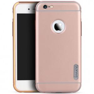 "iPaky Metal Frame   Чехол для Apple iPhone 6/6s (4.7"") с металлическим бампером"