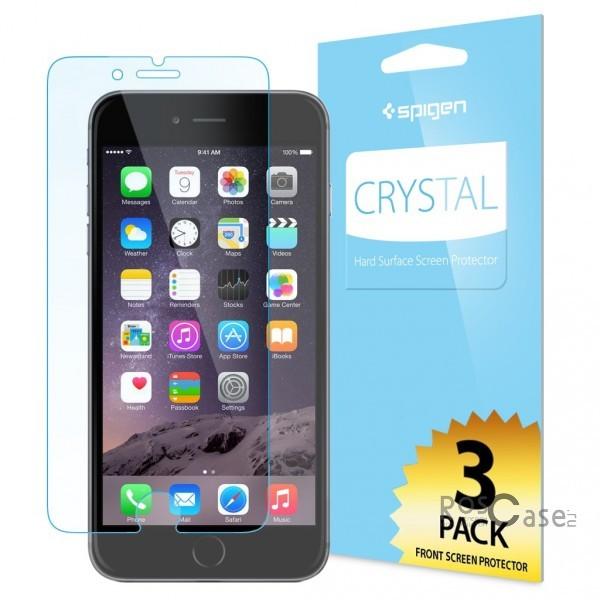 """фото защитная пленка SGP Crystal CR (3шт на экран) для Apple iPhone 6/6s plus (5.5"""")"""