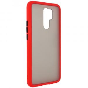 Противоударный матовый полупрозрачный чехол  для Xiaomi Redmi 9