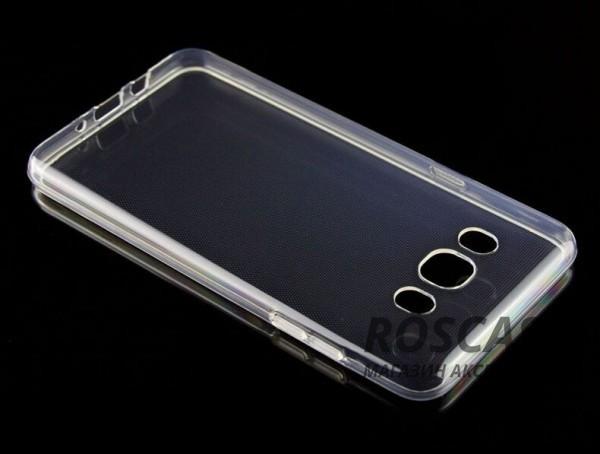 Ультратонкий силиконовый чехол Ultrathin 0,33mm для Samsung J510F Galaxy J5 (2016) (Бесцветный (прозрачный))Описание:бренд:&amp;nbsp;Epik;совместим с Samsung J510F Galaxy J5 (2016);материал: термополиуретан;тип: накладка.&amp;nbsp;Особенности:ультратонкий дизайн - 0,33 мм;прозрачный;эластичный и гибкий;надежно фиксируется;все функциональные вырезы в наличии.<br><br>Тип: Чехол<br>Бренд: Epik<br>Материал: TPU