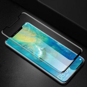 5D | Защитное стекло для Huawei Mate 20 Pro с полной проклейкой на весь экран (в упаковке)