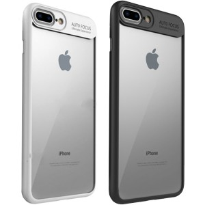 "iPaky Hard Original | Прозрачный чехол для Apple iPhone 7 plus / 8 plus (5.5"") с защитными бортиками"
