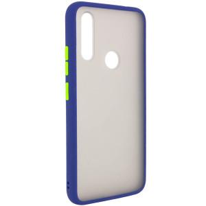 Противоударный матовый полупрозрачный чехол  для Huawei P Smart Z