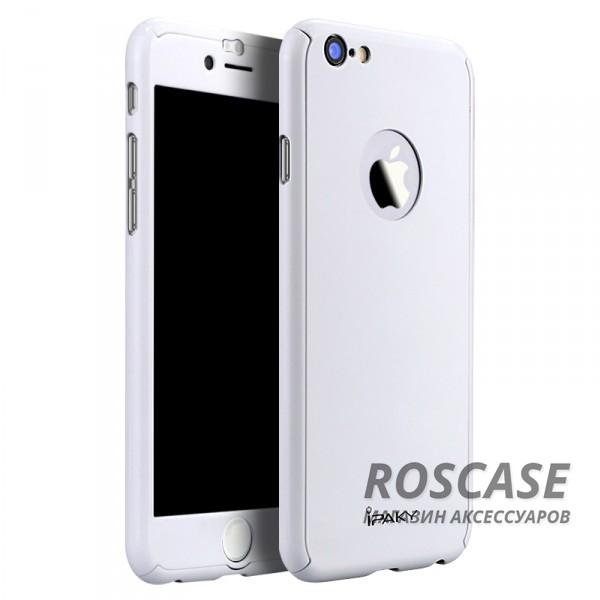 Чехол iPaky Painting 360 градусов для Apple iPhone 6/6s (4.7) (+ стекло на экран) (Белый)Описание:бренд iPaky;разработан для Apple iPhone 6/6s (4.7);материал: пластик;тип: накладка со стеклом.Особенности:тонкий дизайн;пастельные тона;защита экрана;функциональные вырезы;защищает от механических повреждений;матовый.<br><br>Тип: Чехол<br>Бренд: Epik<br>Материал: TPU