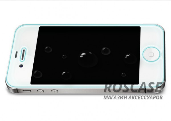 изображение защитное стекло Nillkin Anti-Explosion Glass (H) для Apple iPhone 4/4S (+ пленка на заднюю панель)