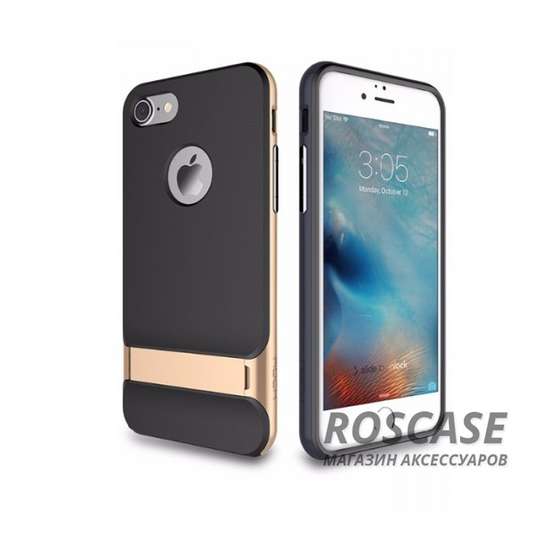 """Фотография Черный / Champagne gold Rock Royce   Чехол для Apple iPhone 7 plus / 8 plus (5.5"""") с подставкой"""