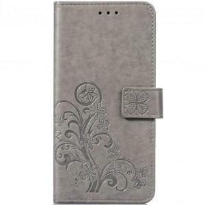 Чехол-книжка с узорами на магнитной застёжке для Huawei Honor 9 Lite