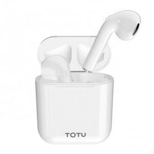 TOTU Glory | Беспроводные Bluetooth наушники с зарядным кейсом и сенсорной кнопкой