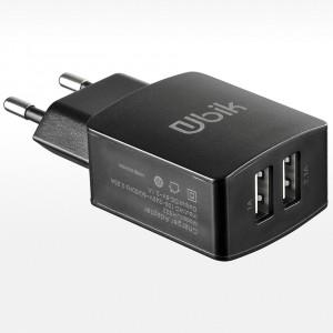 Ubik | Сетевое зарядное устройство с двумя USB разъемами (2.1A) для Samsung Galaxy S7 (G930F)