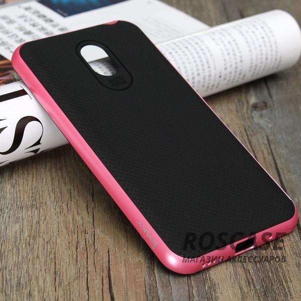 Чехол iPaky TPU+PC для Meizu M2 Note (Черный / Розовый)Описание:производитель - iPaky;совместим с Meizu M2 Note;материал: термополиуретан, поликарбонат;форма: накладка на заднюю панель.Особенности:эластичный;рельефная поверхность;прочная окантовка;ультратонкий;надежная фиксация.<br><br>Тип: Чехол<br>Бренд: Epik<br>Материал: TPU