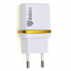 "СЗУ inkax CD-11 (2USB 2.1A) + кабель Type-C для Apple iPhone 7 Plus (5.5"")"
