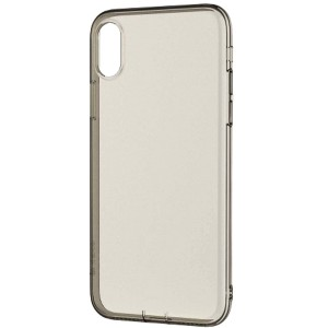 Прозрачный ультратонкий силиконовый чехол-накладка с дополнительной защитой камеры и клавиш для Apple iPhone X