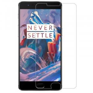 Прозрачное защитное стекло с закругленными краями и олеофобным покрытием для OnePlus 3 / OnePlus 3T