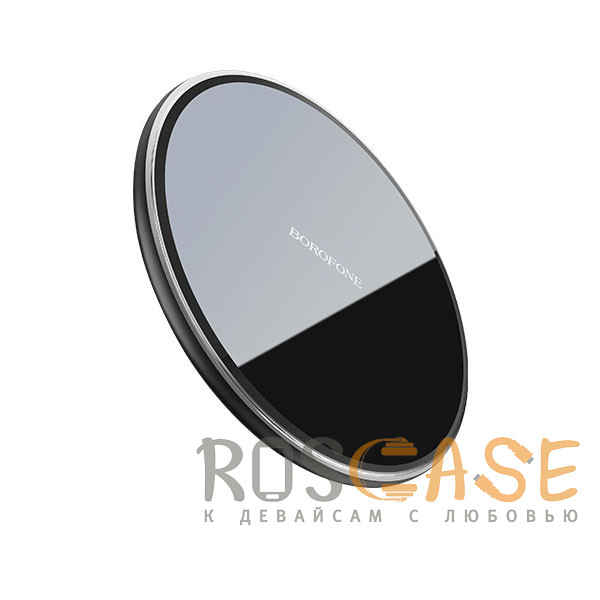 Фото Черный Borofone BQ3 | Беспроводная зарядка Preference 10W + Кабель Micro-USB