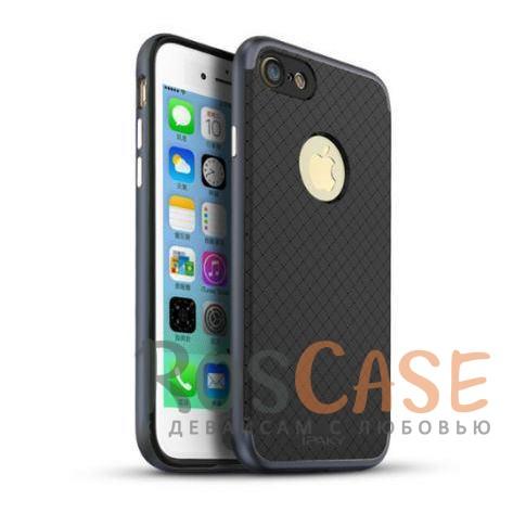 Чехол iPaky TPU+PC для Apple iPhone 7 (4.7) (Черный / Серый)Описание:производитель - iPaky;совместим с Apple iPhone 7 (4.7);материал: термополиуретан, поликарбонат;форма: накладка на заднюю панель.Особенности:эластичный;рельефная поверхность;прочная окантовка;ультратонкий;надежная фиксация.<br><br>Тип: Чехол<br>Бренд: Epik<br>Материал: TPU