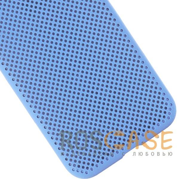 Изображение Голубой Air Color Slim | Силиконовый чехол для Xiaomi Mi A2 Lite / Xiaomi Redmi 6 Pro с перфорацией