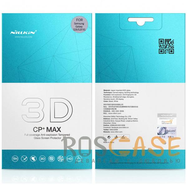 Изображение Черное Nillkin 3D CP+ MAX | Защитное стекло с полной проклейкой для Samsung Galaxy S20