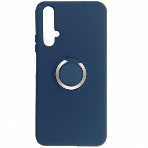 Чехол Silicone Cover с кольцом  для Huawei Nova 5T