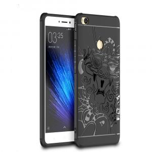 Силиконовый чехол с объемным изображением дракона и укрепленными углами для Xiaomi Mi Max 2
