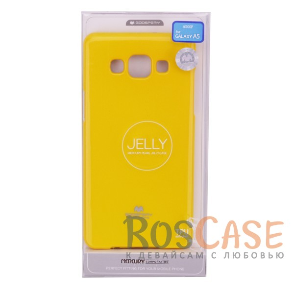 фото TPU чехол Mercury Jelly Color series для Samsung A500H / A500F Galaxy A5