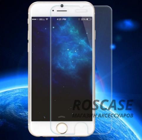 Защитное стекло ROCK Tempered (2.5D) 0.3 mm Glass Series для Apple iPhone 6/6s plus (5.5)Описание:Производитель - компания&amp;nbsp;Rock;Спроектировано персонально для Apple iPhone 6/6s plus (5.5);Материал: специальное закаленное стекло;Форма: защитное стекло.Особенности:Исключается появление царапин и возникновение потертостей;Гарантировано исключительное взаимодействие с сенсорной клавиатурой дисплея;Плотность - 9H;Толщина - 0,3 мм;Отсутствие отпечатков;Не подвержено деформации;Полностью пыленепроницаемое.<br><br>Тип: Защитное стекло<br>Бренд: ROCK