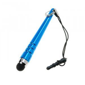 Стилус короткий с заглушкой разъема наушников для телефона / смартфона