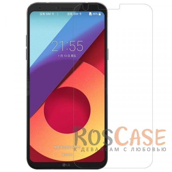 Прозрачная глянцевая защитная пленка Nillkin на экран с гладким пылеотталкивающим покрытием для LG Q6 / Q6a / Q6 Prime M700Описание:бренд&amp;nbsp;Nillkin;совместимость - LG Q6 / Q6a / Q6 Prime M700;материал: полимер;тип: прозрачная пленка;ультратонкая;не влияет на чувствительность экрана;защита от царапин и потертостей;фильтрует УФ-излучение;размер пленки -&amp;nbsp;138,5*65,3 мм.<br><br>Тип: Защитная пленка<br>Бренд: Nillkin