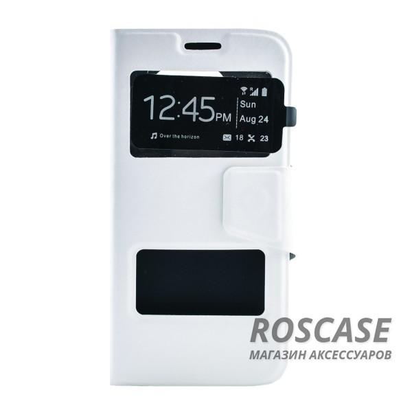 Чехол (книжка) с TPU креплением для Samsung G925F Galaxy S6 Edge (Белый)Описание:производитель - бренд&amp;nbsp;Epik;разработан для Samsung G925F Galaxy S6 Edge;материал: искусственная кожа;тип: чехол-книжка.&amp;nbsp;Особенности:имеются функциональные вырезы;магнитная застежка;защита от ударов и падений;окошко в обложке;ответ на вызов через обложку;не скользит в руках.<br><br>Тип: Чехол<br>Бренд: Epik<br>Материал: Искусственная кожа