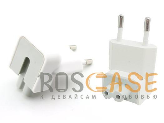 Фото Белый  Переходник для зарядки MacBook Magsafe / Magsafe 2