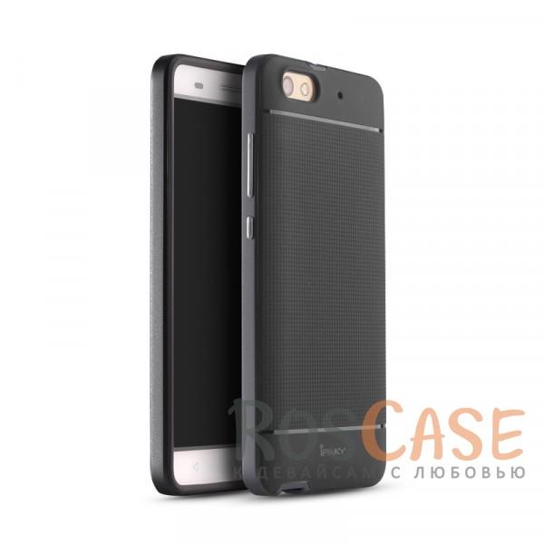 Чехол iPaky TPU+PC для Huawei Honor 4C (Черный / Серый)Описание:производитель: iPaky;совместимость: смартфон Huawei Honor 4C;материалы изделия: термополиуретан и поликарбонат;форм-фактор: накладка.Особенности:дополнительный каркас из поликарбоната;высокий уровень износостойкости и прочности;ультратонкий;имеет все необходимые функциональные вырезы;легко чистится.<br><br>Тип: Чехол<br>Бренд: Epik<br>Материал: TPU