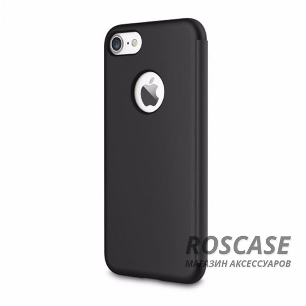 фото Черный / Black Чехол (книжка) Rock DR.V Series для Apple iPhone 7 plus (5.5