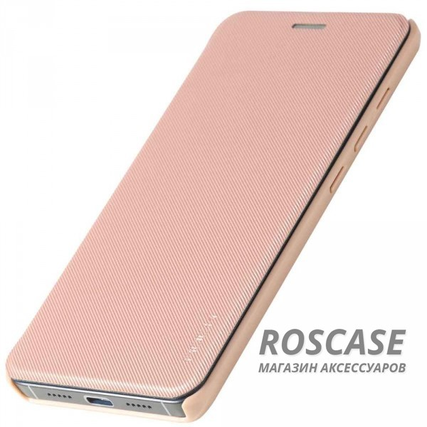 фото Розовый / Rose Gold Чехол (книжка) Rock Veena Series для Xiaomi MI5 / MI5 Pro