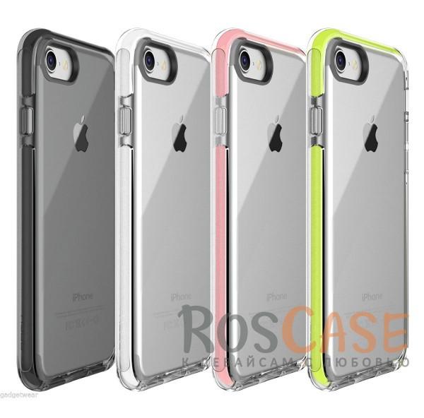 TPU+PC чехол Rock Guard Series для Apple iPhone 7 (4.7)Описание:фирма: Rock;совместимость: Apple iPhone 7 (4.7);материал: термопластичный полиуретан и поликарбонат;вид: накладка.Особенности:наличие прочной окантовки;красивые стильные оттенки;долговечность без потери внешнего вида;простота фиксации.<br><br>Тип: Чехол<br>Бренд: ROCK<br>Материал: TPU