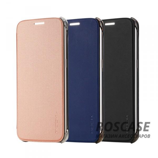 Чехол (книжка) Rock Veena Series для Samsung G930F Galaxy S7Описание:продукт компании&amp;nbsp;ROCK;разработан специально для&amp;nbsp;Samsung G930F Galaxy S7;материалы: поликарбонат, полиуретан;формат: чехол-книжка.Особенности:присутствуют все необходимые вырезы;рифленая поверхность;олеофобное покрытие;устойчив к появлению царапин;удобно ложится в руку.<br><br>Тип: Чехол<br>Бренд: ROCK<br>Материал: TPU