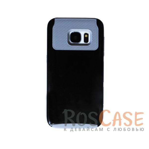 Оригинальный чехол KMC для Samsung G930F Galaxy S7 (Серый / Черный)<br><br>Тип: Чехол<br>Бренд: Epik<br>Материал: Пластик
