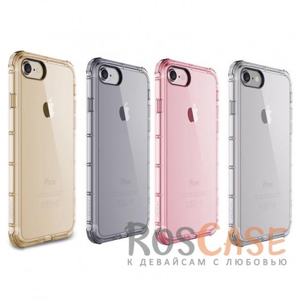 TPU чехол ROCK Fence series для Apple iPhone 7 plus (5.5)Описание:производитель  -  Rock;полностью совместим с Apple iPhone 7 plus (5.5);изготовлен из термопластичного полиуретана;имеет форму накладки.Особенности:износостойкий чехол, пыленепроницаемый;гибкий и эластичный, легко снимается и одевается;не склонен к деформированию и выцветанию;точно копирует форму устройства.<br><br>Тип: Чехол<br>Бренд: ROCK<br>Материал: TPU