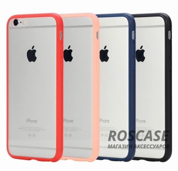 "фото TPU+PC чехол Rock Pure Series для Apple iPhone 6/6s (4.7"")"