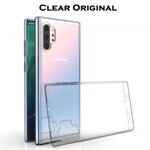 Clear Original | Прозрачный TPU чехол 2мм для Samsung Galaxy Note 10 Plus