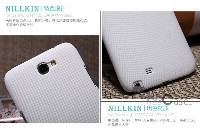 Матовый чехол Nillkin Super Frosted Shield для Samsung N7100 Galaxy Note 2 (+ пленка)