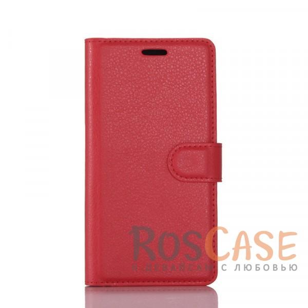Гладкий кожаный чехол-бумажник на магнитной застежке с функцией подставки и внутренними карманами для Sony Xperia XA1 Plus / XA1 Plus Dual (Красный)Описание:совместимость -&amp;nbsp;Sony Xperia XA1 Plus / XA1 Plus Dual;материалы  -  искусственная кожа, TPU;форма  -  чехол-книжка;фактурная поверхность;предусмотрены все функциональные вырезы;кармашки для визиток/кредитных карт/купюр;магнитная застежка;защита от механических повреждений.<br><br>Тип: Чехол<br>Бренд: Epik<br>Материал: Искусственная кожа